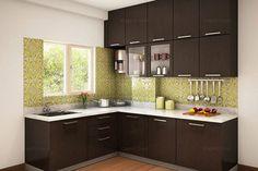 Munnar L-shaped Modular Kitchen Designs