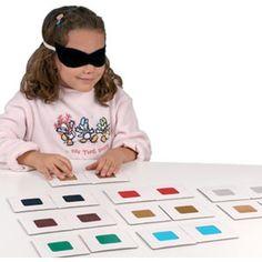 Tacto-Foto, Juego sensorial para desarrollar el sentido del tacto, a partir de…