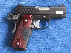 Kimber Ultra carry 2 with crimson trace laser grip