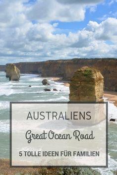 Die besten Attraktionen und Fun Activities entlang der Great Ocean Road, Australien für Familien mit Kindern.