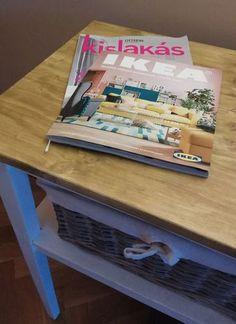 Asztal felújítás, Table painting.  IKEA, JYSK