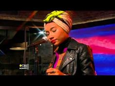 Yuna performs Lullabies on CBS this morning