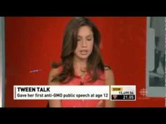 ▶ 14 year old Rachel Parent debates GMO's Kevin O'Leary - YouTube