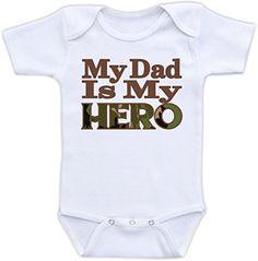 My Dad Is My Hero - Cute Baby Onesie (0-3M) Doozy Designs http://www.amazon.com/dp/B00KWOQMLA/ref=cm_sw_r_pi_dp_bna-ub08WRPP7