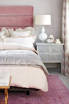 *Lovely Clusters - The Pretty Blog www.lovelyclustersblog.com: Interior of the Day: Soothing Master Suite