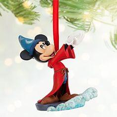 Sorcerer Mickey Mouse Sketchbook Ornament