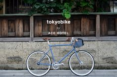 "This fall, tokyobikes became available for ""hire"" at Ace Hotel London."
