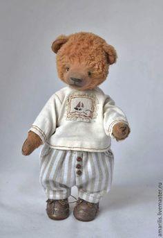 Федор. Ярмарка Мастеров - ручная работа, handmade Teddy Bears, Beren, Toys, Animals, Activity Toys, Animales, Animaux, Clearance Toys, Animal