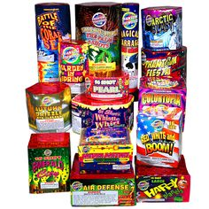 Phantom Fireworks® Supreme Finale Assortment: Contains 15 great items for you to light!