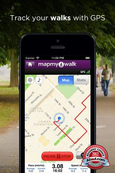 Walk with Map My Walk+ - GPS Pedometer for Walking, Jogging, Running, Workout Tracking and Calorie Counter  (Lifestyle) - http://www.ipadsadvisor.com/walk-with-map-my-walk-gps-pedometer-for-walking-jogging-running-workout-tracking-and-calorie-counter-lifestyle