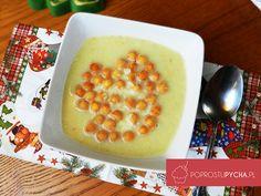 Zupa serowa z groszkiem ptysiowym <3 Po prostu pycha! :)