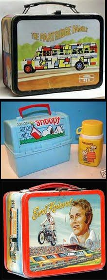 Lunchboxes  This was a big decision; every school year I needed a new one because mine had rusted out.