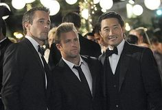 Alex O'Laughlin, Scott Kahn & Daniel Dae Kim