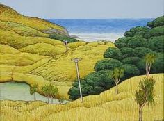 Don Binney - Contemporary NZ artist  Love his works