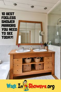10 Best Fogless Shower Mirrors You Need To See Today!