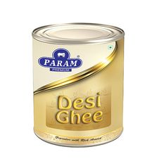 Organic param desi Ghee made from cow milk; Heat Stable, contains fat soluble nutrients & vitamins that help our bodies maintain good health; Desi Ghee, Milk And Cheese, Health And Nutrition, Coffee Cans, Bodies, Cow, Vitamins, Butter, Organic