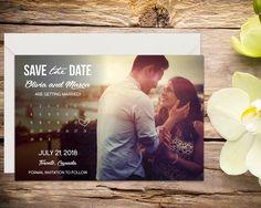 calendar save the date template