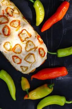 Receta de Pan de Ají Amarillo y Ají Verde