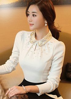 Look Fashion, Korean Fashion, Curvy Fashion, Fall Fashion, Office Looks, Mode Hijab, How To Look Classy, Fashion Tips For Women, Blouse Designs