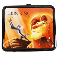Disney Lion King Metal Lunch Box Tribal