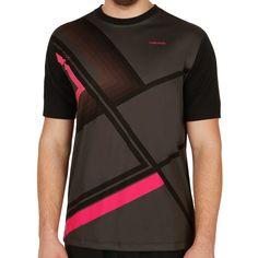 Brandon T-Shirt Men anthracite/black