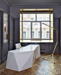Как оформить: 5 офисов известных декораторов | AD Magazine