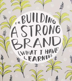 Rebuilding a strong brand (What I Have Learned) « Sycamore Street Press Business Branding, Business Marketing, Media Marketing, Craft Business, Creative Business, Business Advice, Online Business, Identity, Web Design