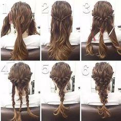 Diy braid pictorial