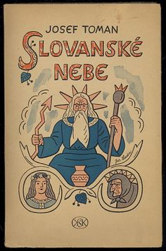 Book cover by Josef Lada, Czechoslovakia
