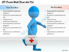 1813 3D Doctor with First Aid Kit Ppt Graphics Icons Powerpoint #Powerpoint #Templates #Infographics