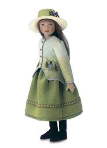 Maggie Iocono felt doll