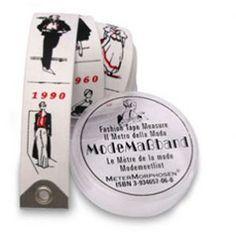Fashion history tape measure