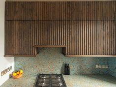 Mansion Kitchen, Natural Stone Countertops, Architectural Columns, Cafe House, Oak Cabinets, Kitchen Cabinetry, Decoration, Kitchen Remodel, Interior Design