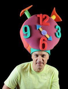 Gorro gomaespuma: Reloj