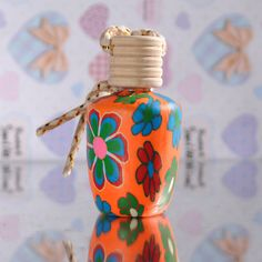 20ml Polymer Clay Small Hanging Empty Perfume Bottle