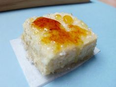 Lemon Cheesecake Crème Brulee Bars | Pink Recipe Box
