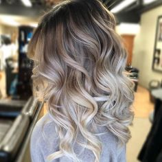 Golden Blonde Balayage for Straight Hair - Honey Blonde Hair Inspiration - The Trending Hairstyle Brown Ombre Hair, Ombre Hair Color, Hair Color Balayage, Dark To Blonde Balayage, Brown Hair Dyed Blonde, Grey Ombre, Balayage Highlights, Haircolor, Onbre Hair