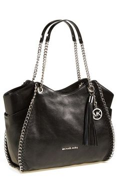 Michael Kors OFF! Getting into bag territory! Think this Michael Kors is pretty cute and on sale. Id definitely go Kors over Coach these days for a nice bag on the lower end of the designer pricing range! Carteras Michael Kors, Sac Michael Kors, Michael Kors Outlet, Handbags Michael Kors, Michael Kors Black Purse, Cheap Michael Kors, Mk Handbags, Purses And Handbags, Designer Handbags