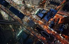 Looking Down at New York City | Abduzeedo Design Inspiration & Tutorials