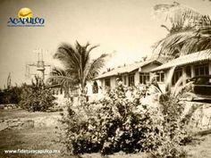 #acapulcoeneltiempo El hotel Las Anclas de Acapulco. ACAPULCO EN EL TIEMPO. Uno de los mejores hoteles a las afueras de Acapulco fue Las Anclas, el cual tenía una serie de búngalos de un sobrio diseño y fue muy popular durante la década de los años 40. En la actualidad ya no existe, pero el lugar sigue siendo conocido como Las Anclas. Te invitamos a visitar la página oficial de Fidetur Acapulco, para obtener más información.