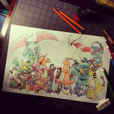I will draw this one day #pokemon