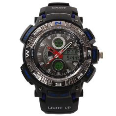 Original Men Digital-Watch Sports Watches Relogio Masculino Relojes Hombre Quartz Clock Montre Homme Dive Watch