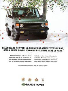 Publicité Range Rover - Automobiles Classiques juin / juillet 1991