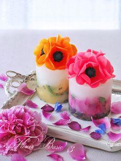 東京都台東区のキャンドル教室です。蜜蝋で作るフラワーキャンドルのレッスンをしています。キャンドルがお好きな方、お花がお好きな方に選んでいただける教室になることを祈って・・・
