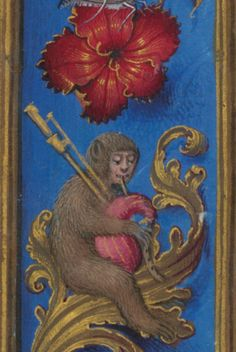Saint James the Great (detail) from Breviary of Isabella of Castile, about 1497. British Library