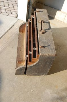 Grandpas Old Tool Box #1: Great Grandpa's Old Tool Box - by harshest @ LumberJocks.com ~ woodworking community
