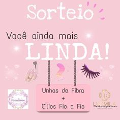 Dia Do Designer, Lash Lift, E Design, Lashes, How To Make, Fiberglass Nails, Eyelash Tips, Promotion Ideas, Perfect Eyelashes