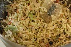 Frugal by Choice, Cheap by Necessity: Two minute coleslaw