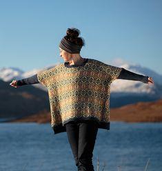Ravelry: Strathendrick pattern by Kate Davies Designs Knitting Stitches, Knitting Designs, Hand Knitting, Knitting Patterns, Sewing Patterns, Kate Davis, West Highland Way, Dress Making Patterns, Fair Isle Knitting