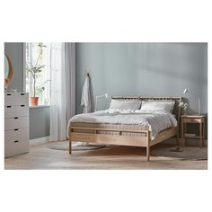 IKEA offers everything from living room furniture to mattresses and bedroom furniture so that you can design your life at home. Check out our furniture and home furnishings! Under Bed Storage, Storage Boxes, Storage Spaces, Ikea Family, Head Boards, Bed Slats, Bed Base, Wood Beds, Wood Bed Frames